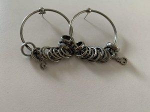 Dolce & Gabbana Ear Hoops silver-colored