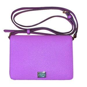 Dolce & Gabbana Crossbody-Tasche, Leder, Rosa