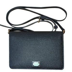 Dolce & Gabbana Crossbody-Tasche, Leder, Schwarz