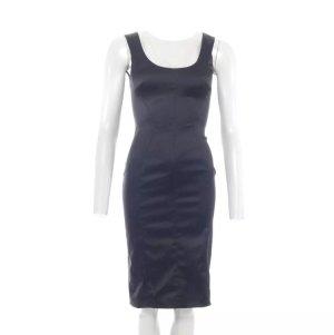 Dolce & Gabbana D&G Bleistift Kleid Gr. 32 dt. / 38 it. Schwarz Glanz (AHB)