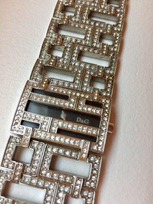 Dolce & Gabbana D&G Time Damenuhr mit Similisteinen