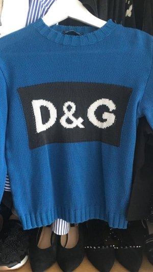 Dolce&Gabbana D&G Wollpullover Label Monogram