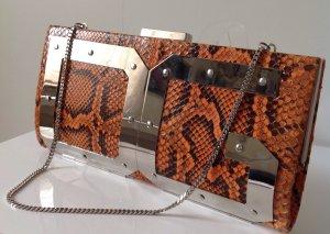 Dolce & Gabbana Borsa clutch multicolore Pelle di rettile