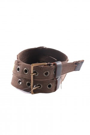 Dolce & Gabbana Double Belt bronze-colored casual look