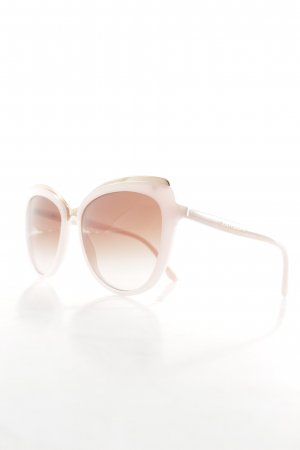 Dolce & Gabbana eckige Sonnenbrille altrosa-rosa Casual-Look