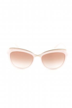 Dolce & Gabbana Angular Shaped Sunglasses dusky pink-pink casual look