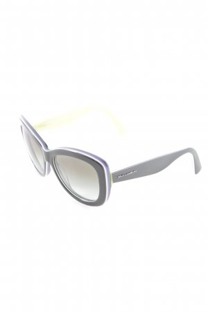 Dolce & Gabbana eckige Sonnenbrille dunkelgrün Casual-Look