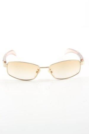 Dolce & Gabbana eckige Sonnenbrille nude-hellorange Business-Look