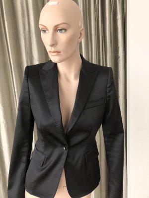Dolce & Gabbana Blazer de esmoquin negro