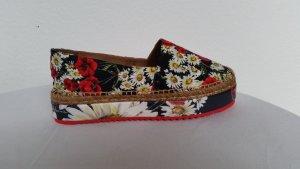 Dolce & Gabbana Mocassins veelkleurig Linnen