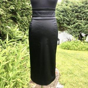 Dolce & Gabbana Falda de talle alto negro