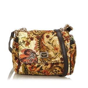 Dolce & Gabbana Crossbody bag beige wool