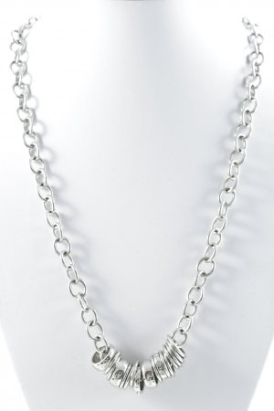 Dolce & Gabbana Link Chain silver-colored Label engraving