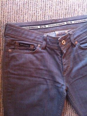 Dolce & Gabbana graue Jeanshose