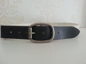 Dolce & Gabbana Belt white-black leather