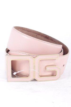 Dolce & Gabbana Gürtel altrosa-goldfarben Eleganz-Look