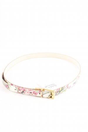 Dolce & Gabbana Belt flower pattern romantic style
