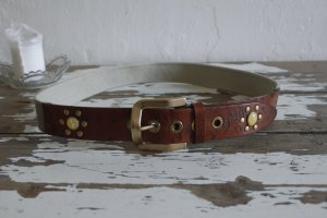 Dolce & Gabbana Belt gold-colored-brown