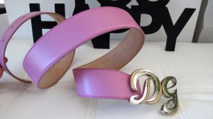 Dolce & Gabbana Leather Belt multicolored leather