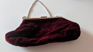 Dolce & Gabbana Handbag dark red mixture fibre