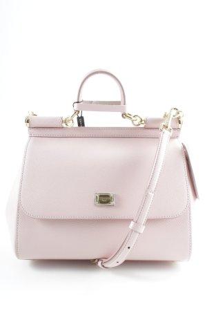 Dolce & Gabbana Handtasche altrosa Leomuster Elegant