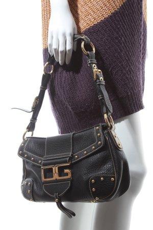 Dolce & Gabbana Handtasche dunkelbraun extravaganter Stil