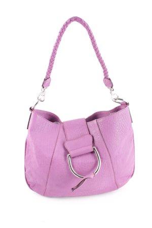 Dolce & Gabbana Handtasche lila Street-Fashion-Look