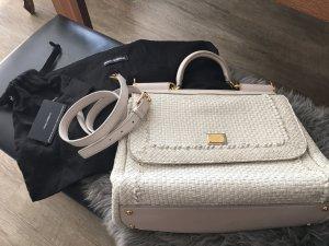 Dolce & Gabbana Borsa bianco sporco