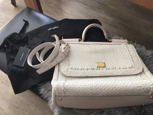 Dolce & Gabbana Bag natural white leather