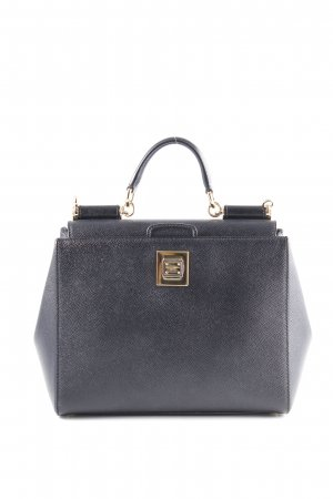"Dolce & Gabbana Handtasche ""Saffiano Leather Bag Black"" schwarz"