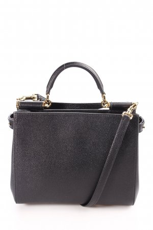 Dolce & Gabbana Handtasche schwarz-goldfarben klassischer Stil