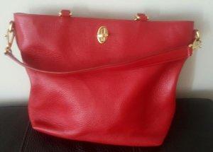 Dolce Gabbana Handtasche Shopper rot elegant und klassisch