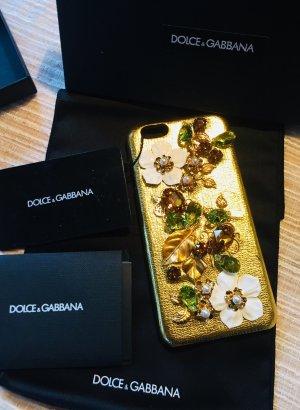 Dolce & Gabbana Hoesje voor mobiele telefoons goud