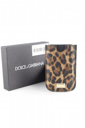 Dolce & Gabbana Mobile Phone Case leopard pattern casual look