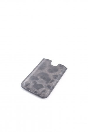 Dolce & Gabbana Mobile Phone Case black-grey animal pattern elegant