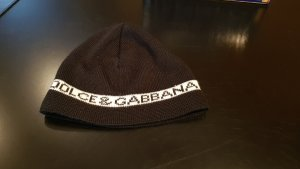 Dolce & Gabbana Cappellino bianco-nero