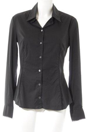 Dolce & Gabbana Hemd-Bluse schwarz Business-Look
