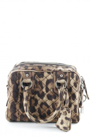 Dolce & Gabbana Carry Bag sand brown-taupe leopard pattern safari look