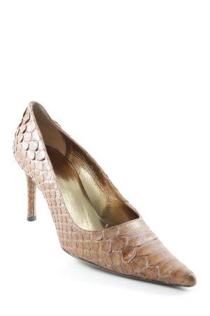 Dolce & Gabbana High Heels cognac Elegant