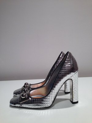 Dolce & Gabbana High Heels in Schlangenleder Optik