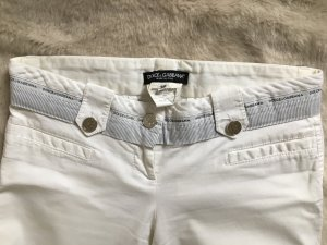 Dolce & Gabbana Trousers white cotton