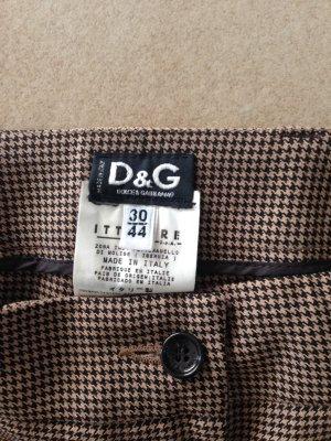 Dolce & Gabbana Hose mit Schlitz Gr. 36/38