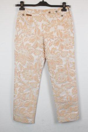 Dolce & Gabbana Pantalon 7/8 rose chair-beige clair tissu mixte