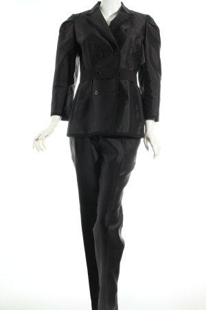 Dolce & Gabbana Hosenanzug schwarz Eleganz-Look