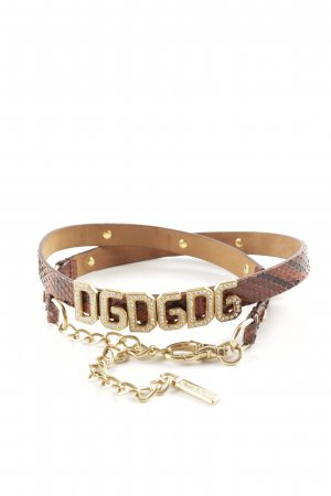 Dolce & Gabbana Cintura fianchi motivo animale stile stravagante