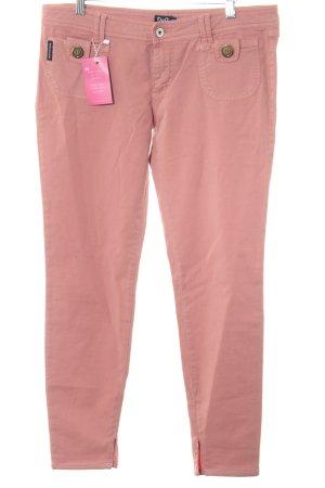 Dolce & Gabbana Lage taille broek roze straat-mode uitstraling