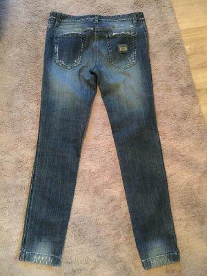 Dolce & Gabbana Jeans skinny blu scuro Cotone