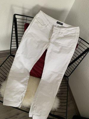 Dolce & Gabbana Pantalone a 3/4 bianco-oro