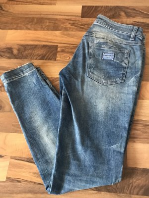 Dolce & Gabbana Low Rise Jeans blue