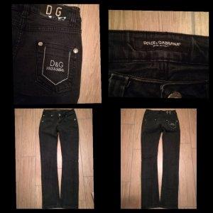 Dolce&Gabbana Jeans in schwarz